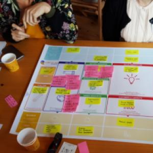 Grupplogga för Upg 9 Projekt- verksamhets- affärsplan