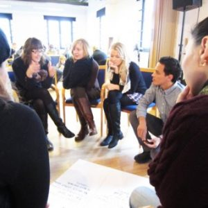 Grupplogga för Upg 4 Reflektion ledarskap & grupp